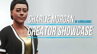 WWE 2K19: Charlie Morgan Creation Showcase (PS4) #WWE2K19 #CreatorShowcase