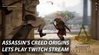 LET'S PLAY Assassin's Creed Origins - Fighting Phylakes
