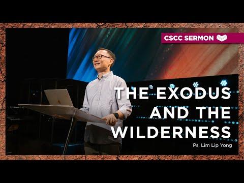 The Exodus and The Wilderness  Ps. Lim Lip Yong  Cornerstone Community Church  CSCC Sermon
