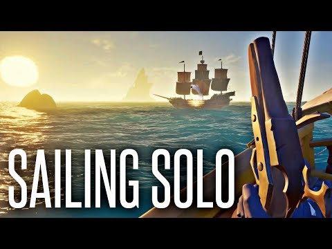 SAILING SOLO - Sea of Thieves - UC-ihxmkocezGSm9JcKg1rfw