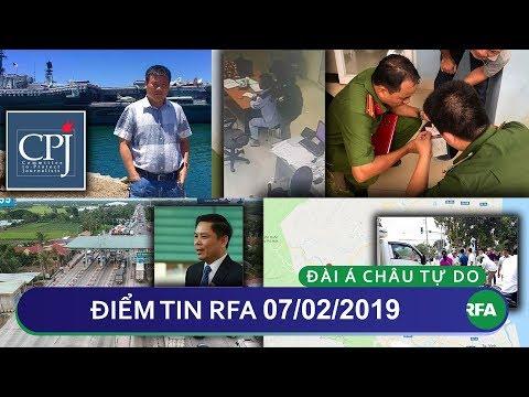Điểm tin RFA tối 07/02/2019   CPJ kêu gọi Thái Lan điều tra vụ blogger Trương Duy Nhất mất tích