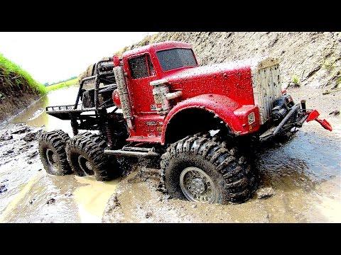 "POWERFUL 6x6 TRUCK in MUDDY SWAMP - OFF ROAD AXLE REPAiR JOB - ""BiG RED"" - RC ADVENTURES - UCxcjVHL-2o3D6Q9esu05a1Q"