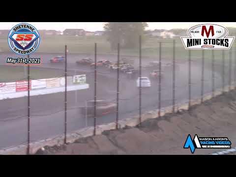 Sheyenne Speedway Mini Stock A-Main (5/31/21) - dirt track racing video image