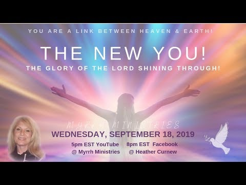 The New You! Carrying & Releasing the Glory