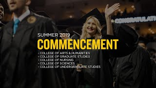 UCF Commencement: August 3, 2019 | Afternoon Ceremony