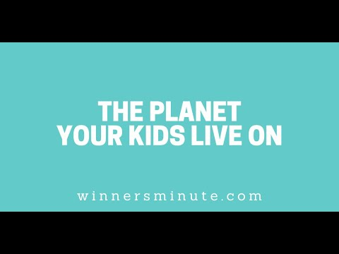 The Planet Your Kids Live on // The Winner's Minute With Mac Hammond