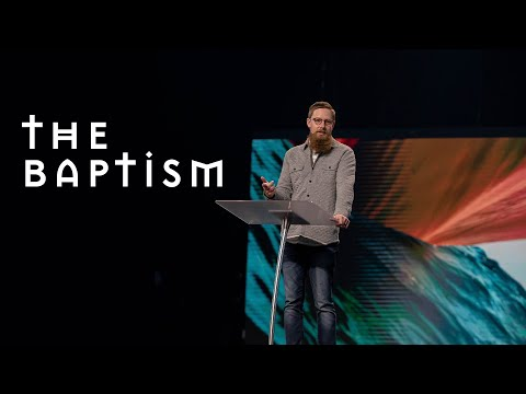 Gateway Church Live  The Baptism by Pastor Josh Morris  March 21