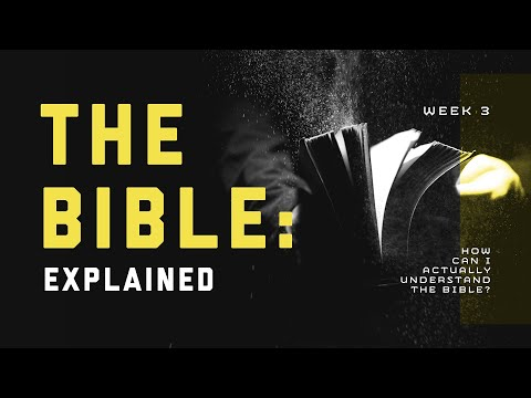 How Can I Actually Understand the Bible?