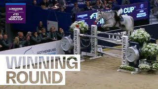 Peder Fredricson wins jump-off by 0.03 seconds! | Longines FEI Jumping World Cup™ FINAL II