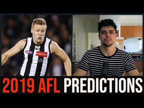 Jesse's 2019 AFL Predictions