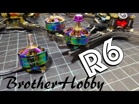 Brother Hobby R6 1750kv Review : 2205 and 2207 - UC2c9N7iDxa-4D-b9T7avd7g