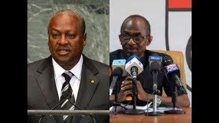 (BREAKING NEWS) John Mahama to choose Asiedu Nketia as running mate