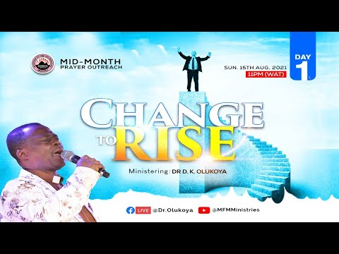 MID-MONTH PRAYER OUTREACH DAY 1 (15-08-2021) Dr D. K. Olukoya