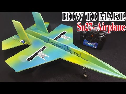 How to Make a Plane With DC Motor - Cardboard Plane | Racer lt