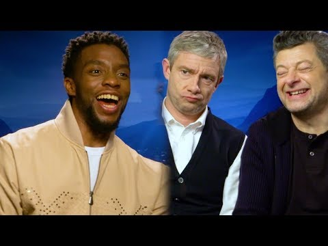 How Many Marvel Movies Can The 'Black Panther' Cast Name In 1 Minute? | PopBuzz Meets - UCztHe2YmTLuIL-cVaH1DxZg