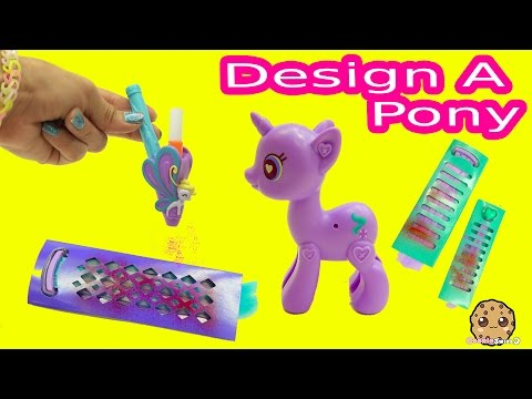 Design A My Little Pony Starlight Glimmer Pop MLP with Blow Color Hair Pen Playset Video Review - UCelMeixAOTs2OQAAi9wU8-g