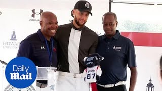 Steph Curry helps to reestablish golf program at Howard University