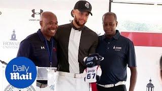Steph Curry helps to reestablish golf program at Howard University