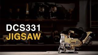 Akutikksaag DeWalt DCS331NT - ilma aku ja laadijata