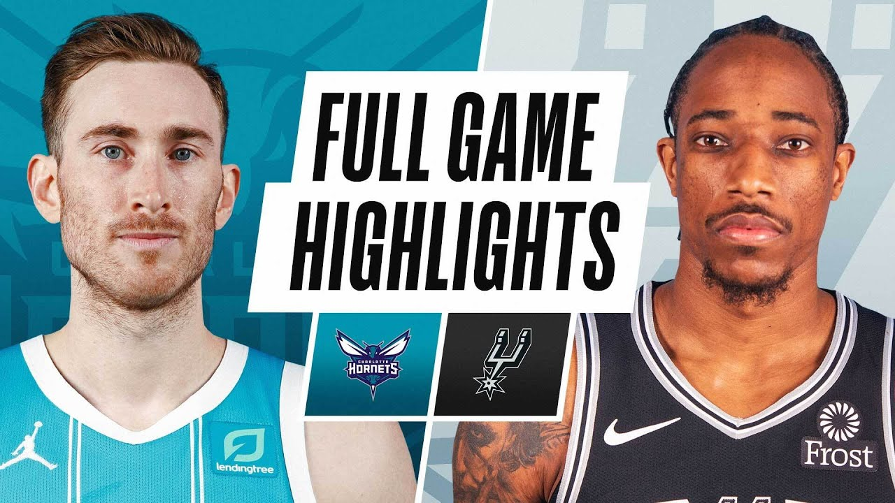 HORNETS at SPURS | FULL GAME HIGHLIGHTS | March 22, 2021