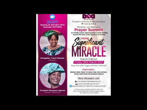 Mothers of Nation - Significant Miracle
