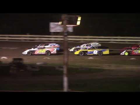 Hummingbird Speedway (7-31-21): Close Racing Supply Economod Feature - dirt track racing video image