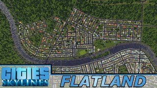 [46] Massive Expansion In New Constantinople | Flatland - Cities: Skylines