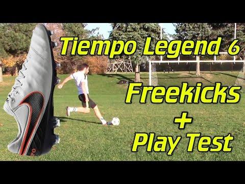 Nike Tiempo Legend 6 Review - Play Test + Freekicks - UCUU3lMXc6iDrQw4eZen8COQ
