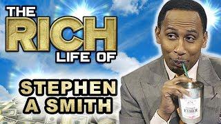 Stephen A Smith | The Rich Life | ESPN $10 Million Dollar Sports Analyst