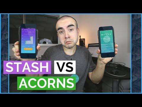 Stash Vs Acorns App | Is the Stash or Acorns App Better for Investing? - UCiy-mtdLBwADhn31KyRwarA