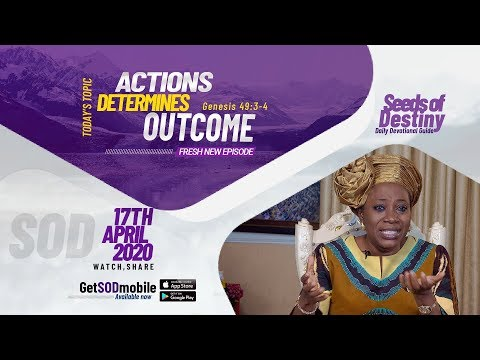 Dr Becky Paul-Enenche - SEEDS OF DESTINY  FRIDAY APRIL 17, 2020