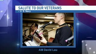 Salute to our veterans: Aviation Structural Mechanic Airman David Lau - NBC 15 WPMI