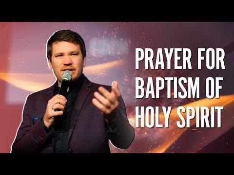 Prayer For Baptism of Holy Spirit