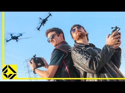 Drone Jousting (aka Drone Crashing) - UCSpFnDQr88xCZ80N-X7t0nQ