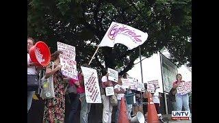Gabriela protests water crisis in Metro Manila, demands implementation of 'zero billing'