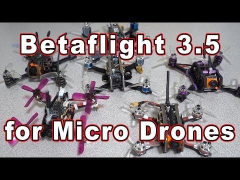 Betaflight 3.5 Micro Drone PIDs (Intro) 🎓 - UCnJyFn_66GMfAbz1AW9MqbQ