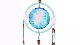 Yhon Soto Solutions - Novelty Gift Decorative Fantasy Fairy Design 16cm Dreamcatcher