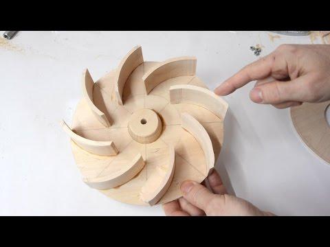 Blower impeller design experiments - UCckETVOT59aYw80B36aP9vw