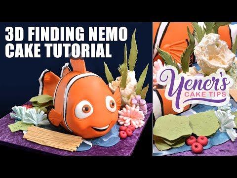 3D Nemo Cake Tutorial | Yeners Cake Tips with Serdar Yener from Yeners Way