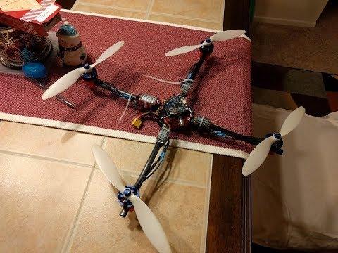 """8"""" CF tube Quadcopter LOS - UCGiSpqkBq99a0wkXK0QKUkA"""