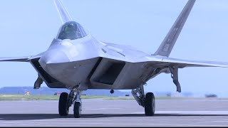 F-22 Raptors land in Great Falls ahead of Mission Over Malmstrom