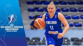 Finland v Turkey - Full Game - FIBA U20 Women's European Championship Division B 2019