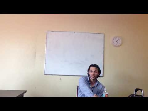 OTP English Lesson - Richard - Engage Phase - What can you do? II