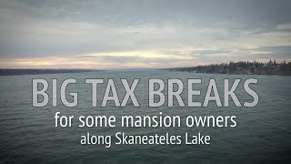 Skaneateles Lake mansions get big tax breaks meant for farms