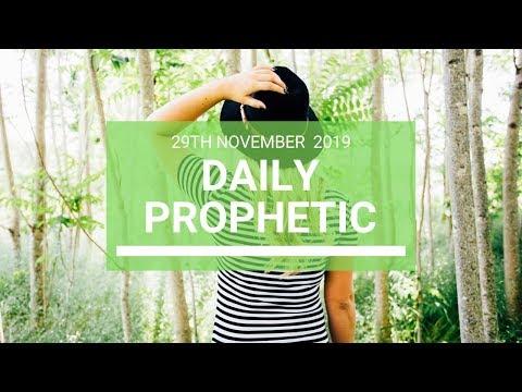 Daily Prophetic 29 November Word 2