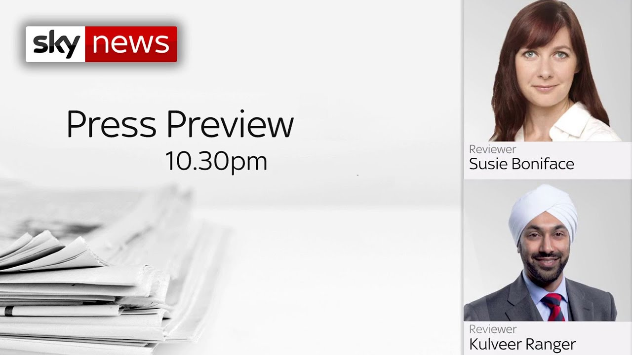 The Press Preview – a first look at Saturday's headlines