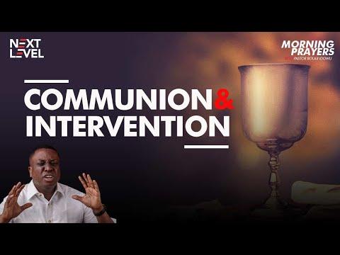 Next Level Prayers  Communion & Intervention  Pst Bolaji Idowu  15th September 2021