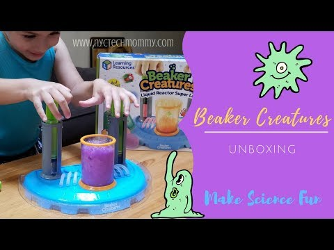 Beaker Creatures Unboxing - Make Science Fun!