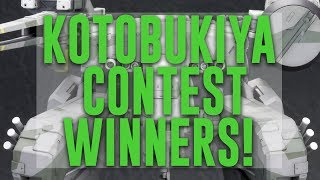 1924 - Kotobukiya Contest Winners Announced!