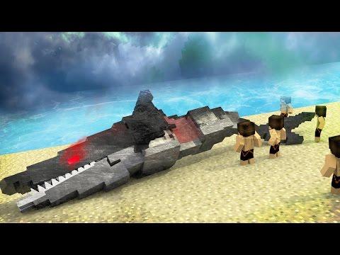 Jaws Movie 2 - How To Kill Mega Robo Shark! (Minecraft Roleplay) #9 - default